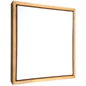 Canvas with frame