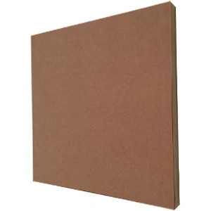Box frame with mdf